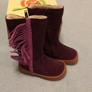 Livie & Luca Suede Leather Boots
